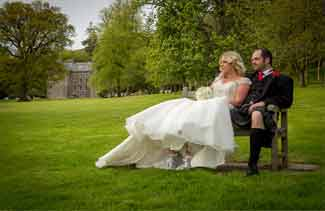 wedding, photographers, Culcreuch Castle
