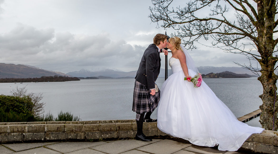 wedding, photographers, Loch Lomond