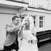 wedding photography Seamill Hydro-020