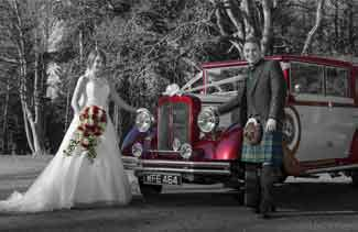 wedding photography Fernie Castle