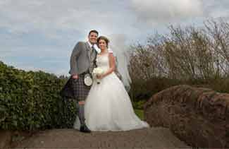 wedding photography Lochside hotel