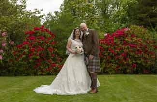wedding photography Dalmeny hotel