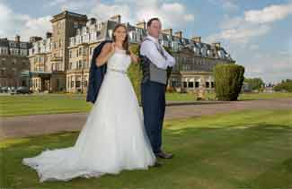 wedding photography Glengeagles Hotel
