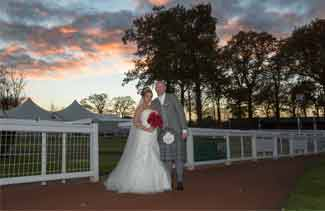 Wedding photography Hamilton Race Course