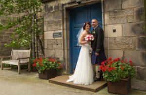 wedding, photographer, St Andrews Uni