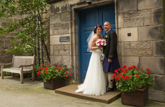 wedding, photographer, St Andrews Uni