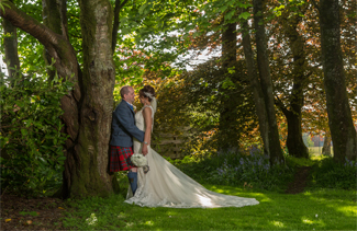 Wedding photography near Glasgow