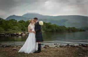 wedding photography Loch Lomond