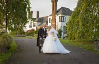 wedding photography Western house Hotel