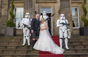 wedding photographers Stirling