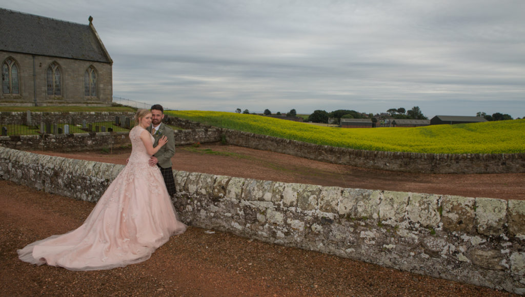 wedding photography Kinkell Byre